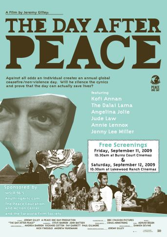 The Day After Peace Poster