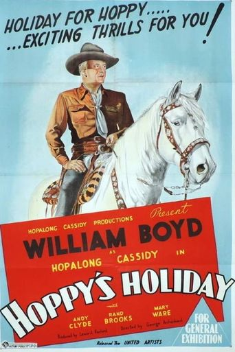 Hoppy's Holiday Poster