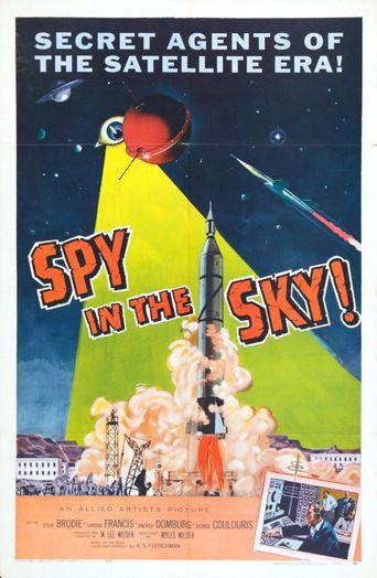 Spy in the Sky! Poster