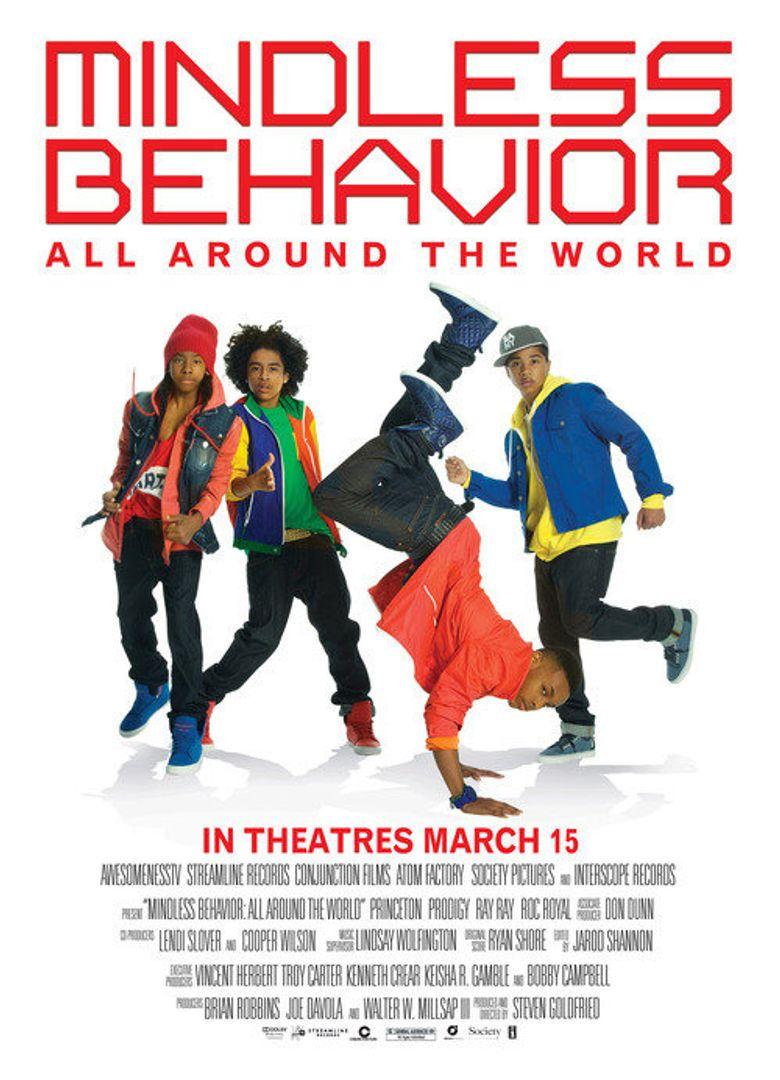 Mindless Behavior: All Around the World Poster