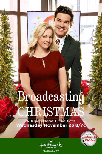 Broadcasting Christmas Poster