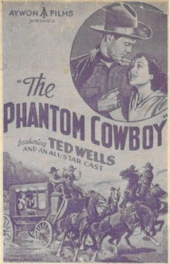 The Phantom Cowboy Poster
