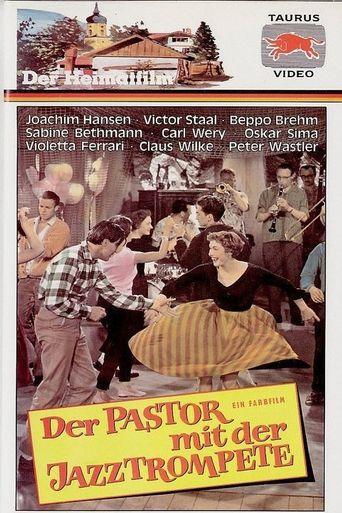 Der Pastor mit der Jazztrompete Poster
