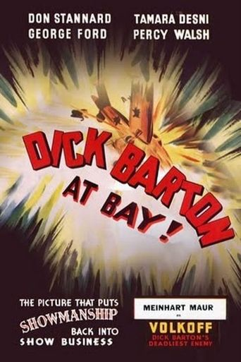 Dick Barton at Bay Poster
