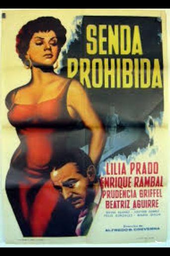 Senda prohibida Poster