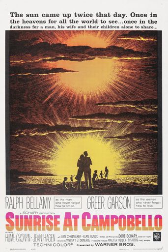 Sunrise at Campobello Poster