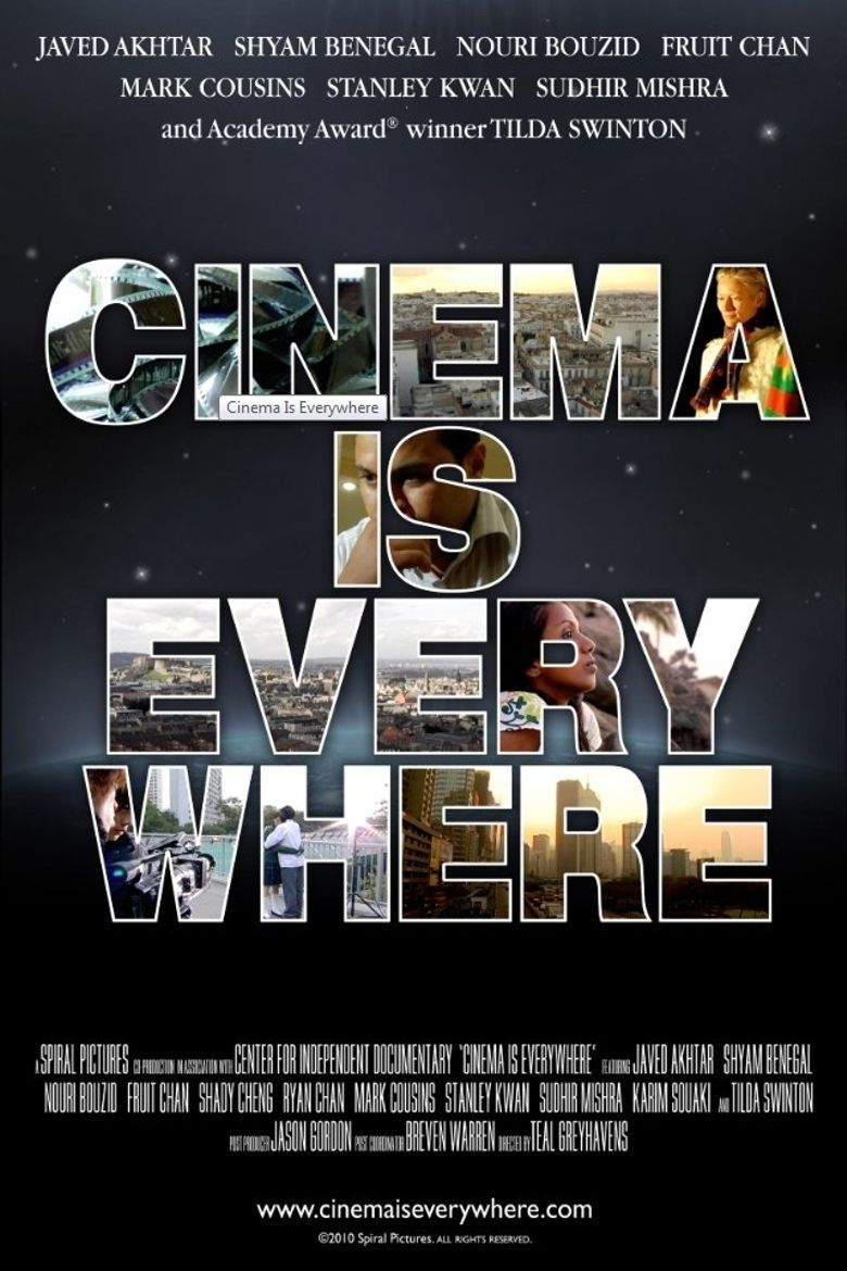 Cinema Is Everywhere Poster