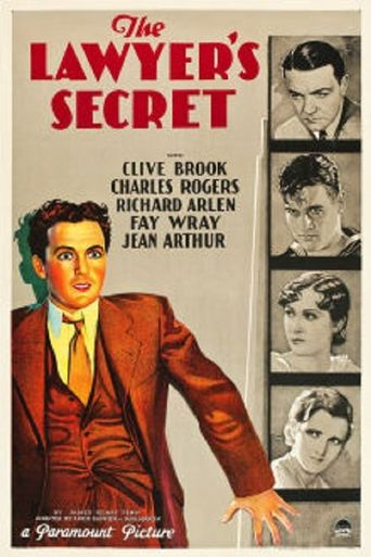 The Lawyer's Secret Poster