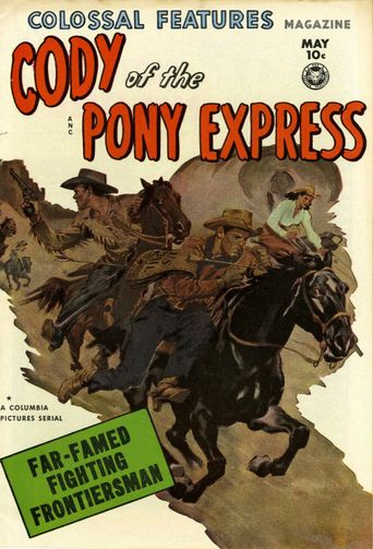 Cody of the Pony Express Poster