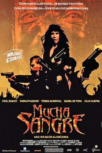 Mucha Sangre Poster