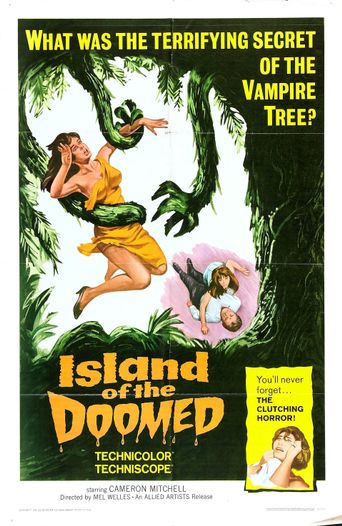 Island of the Doomed Poster