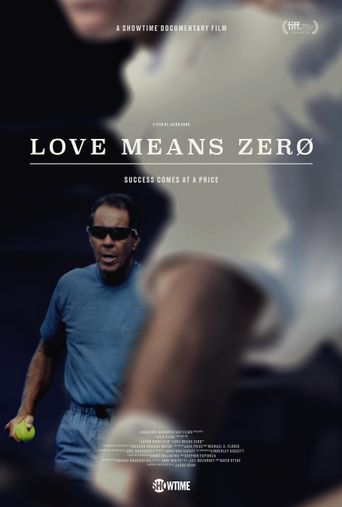 Love Means Zero Poster