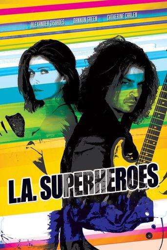 L.A. Superheroes Poster