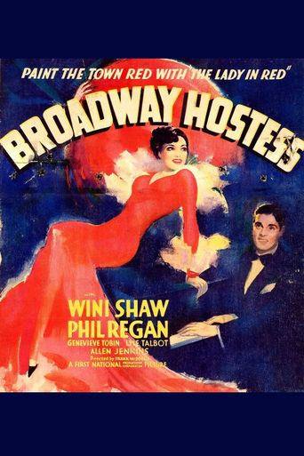 Broadway Hostess Poster