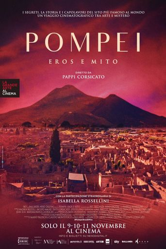 Pompeii: Eros and Myth Poster