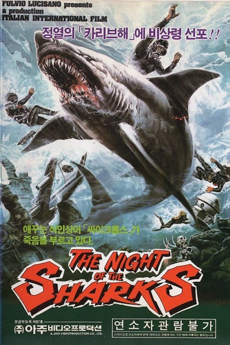 The Night of the Sharks Poster