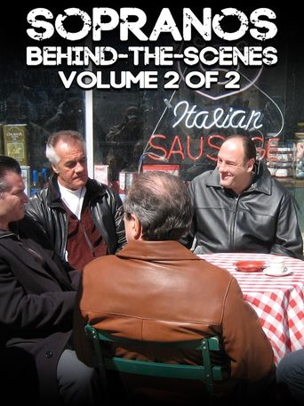 The Sopranos: Behind-The-Scenes Poster