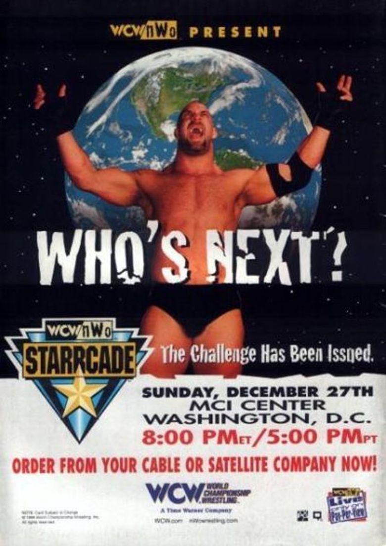 WCW Starrcade '98 Poster