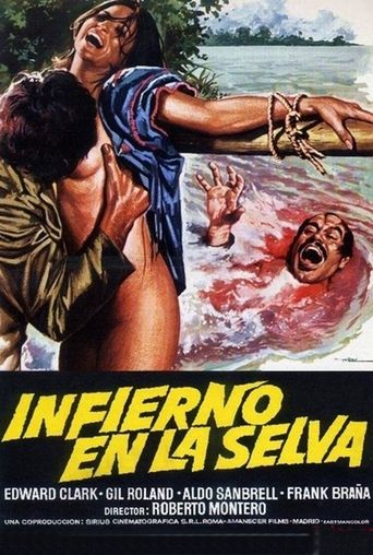 Hell in the Jungle Poster