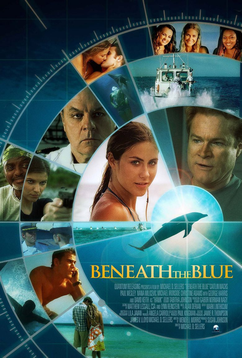Beneath the Blue Poster