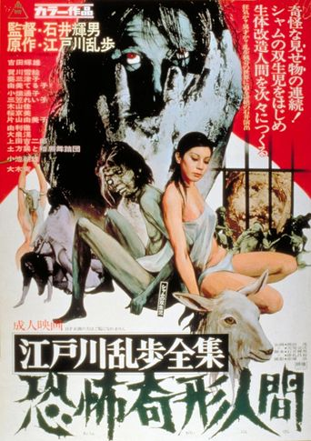 Horrors of Malformed Men Poster