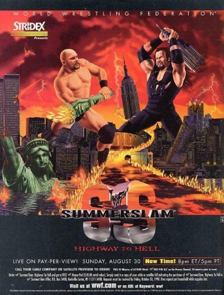WWE SummerSlam 1998 Poster