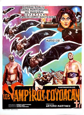 The Vampires of Coyoacan Poster