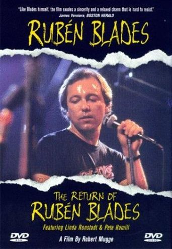 The Return of Rubén Blades Poster