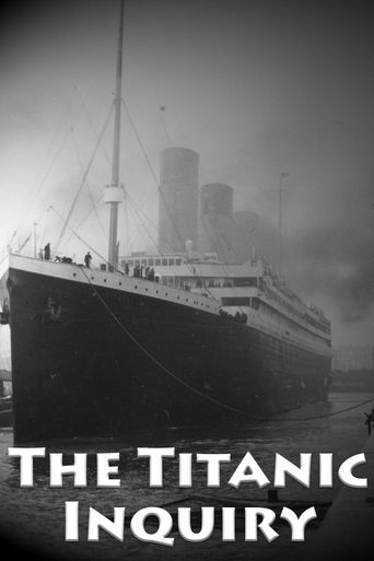 SOS: The Titanic Inquiry Poster