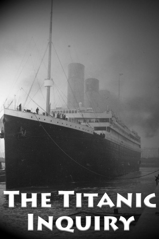 SOS: The Titanic Inquiry Poster
