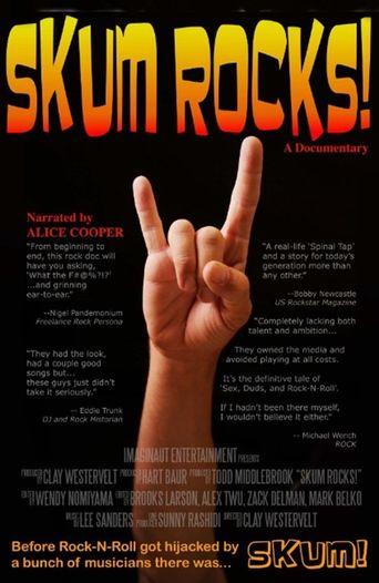 Skum Rocks! Poster