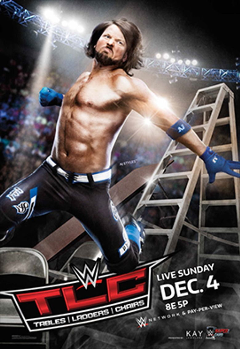 WWE TLC: Tables, Ladders and Chairs 2016 Poster