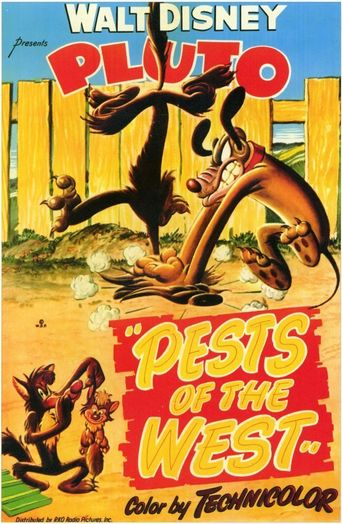 Pests of the West Poster