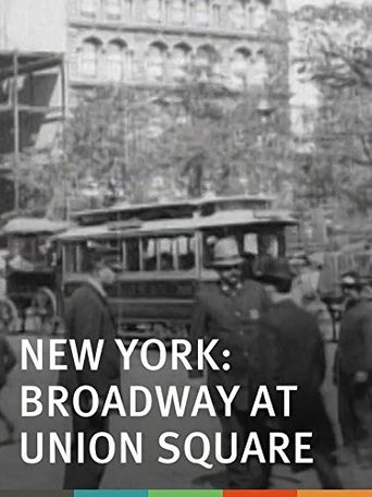 New York: Broadway at Union Square Poster