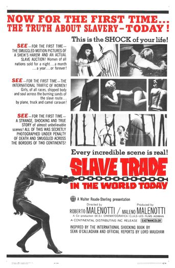 Slave Trade in the World Today Poster