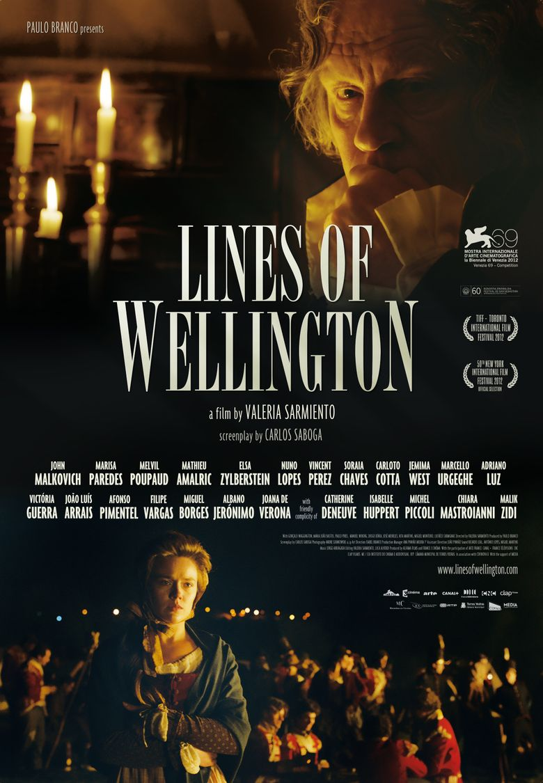 Lines of Wellington Poster