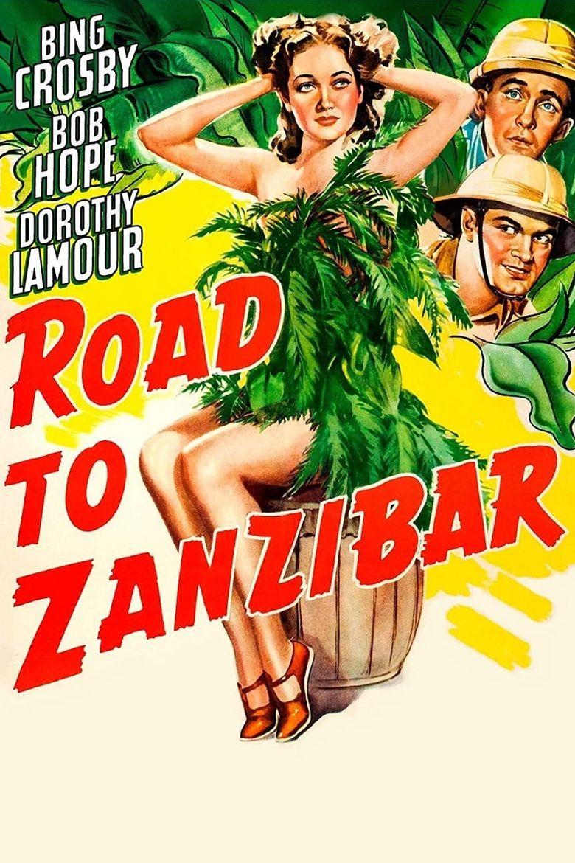 Road to Zanzibar Poster