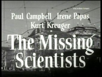 The Missing Scientists Poster