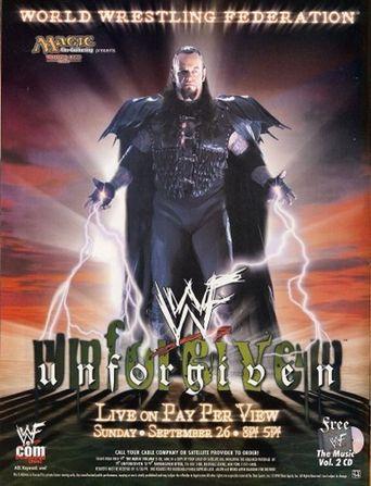 WWE Unforgiven 1999 Poster