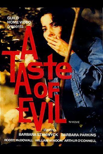 A Taste of Evil Poster