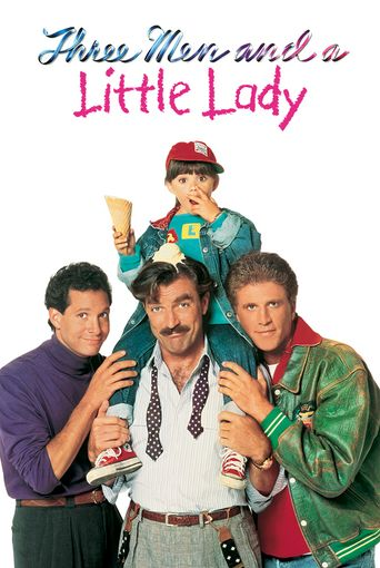 3 Men and a Little Lady Poster