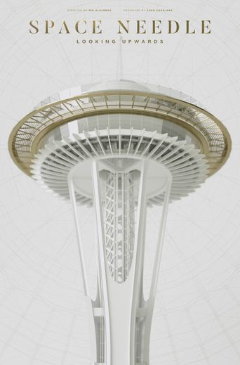 Space Needle: Looking Upwards Poster