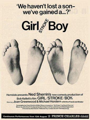 Girl Stroke Boy Poster