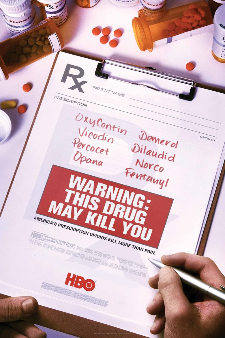 Warning: This Drug May Kill You Poster