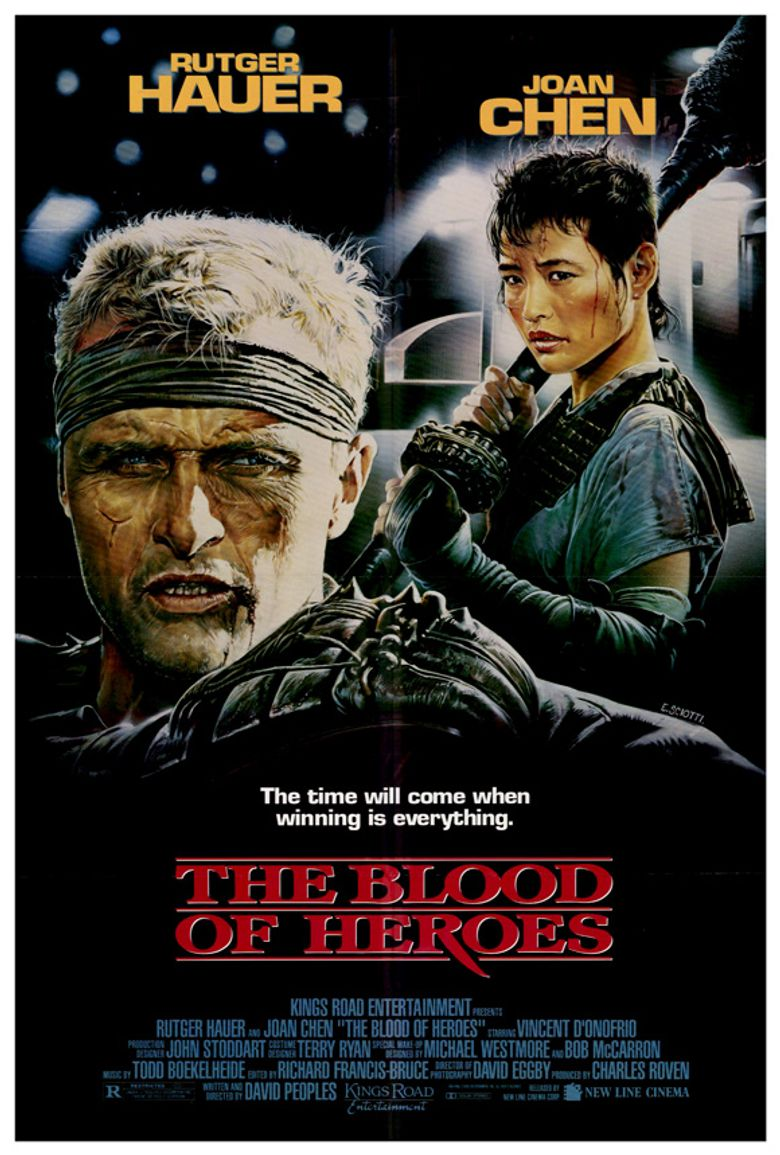 The Blood of Heroes Poster
