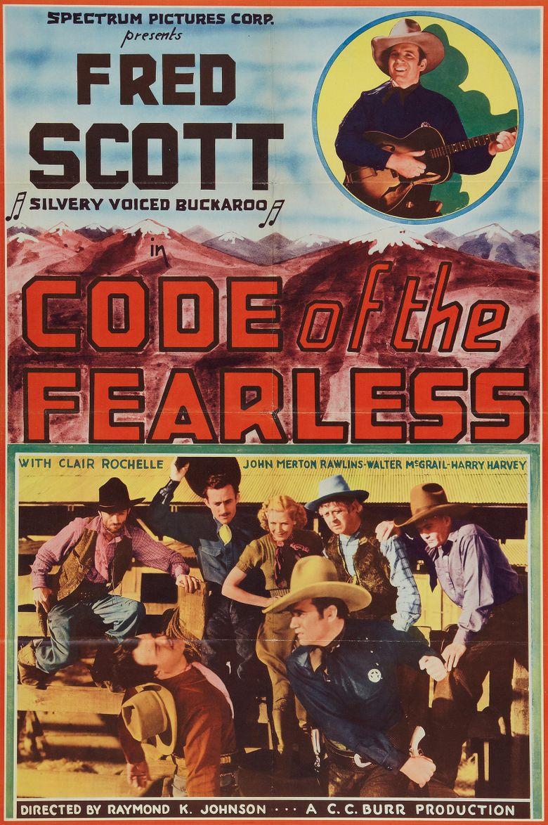 Code of the Fearless Poster