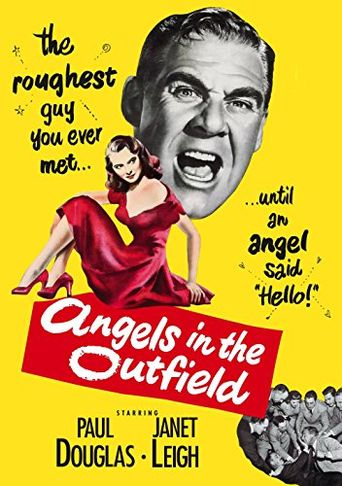Angels in the Outfield Poster