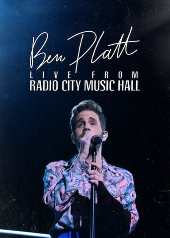 Ben Platt: Live from Radio City Music Hall Poster