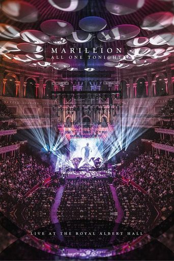 Marillion: All One Tonight - Live At The Royal Albert Hall Poster