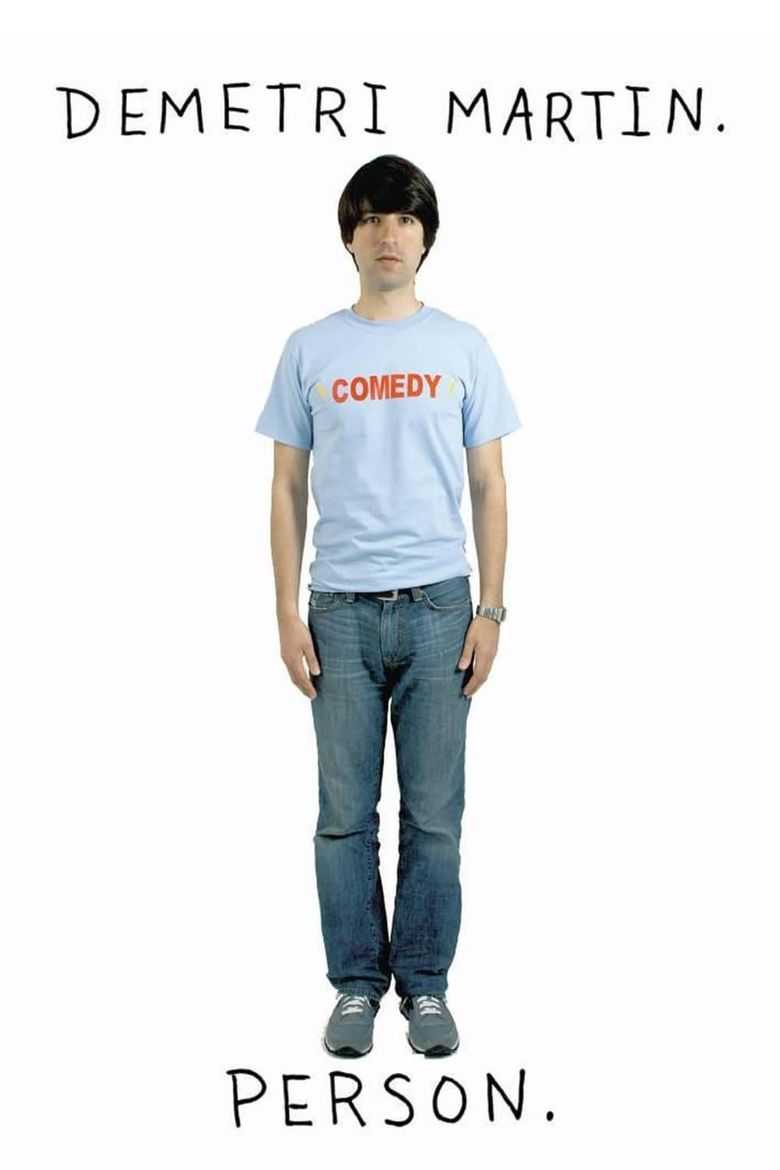Demetri Martin. Person. Poster